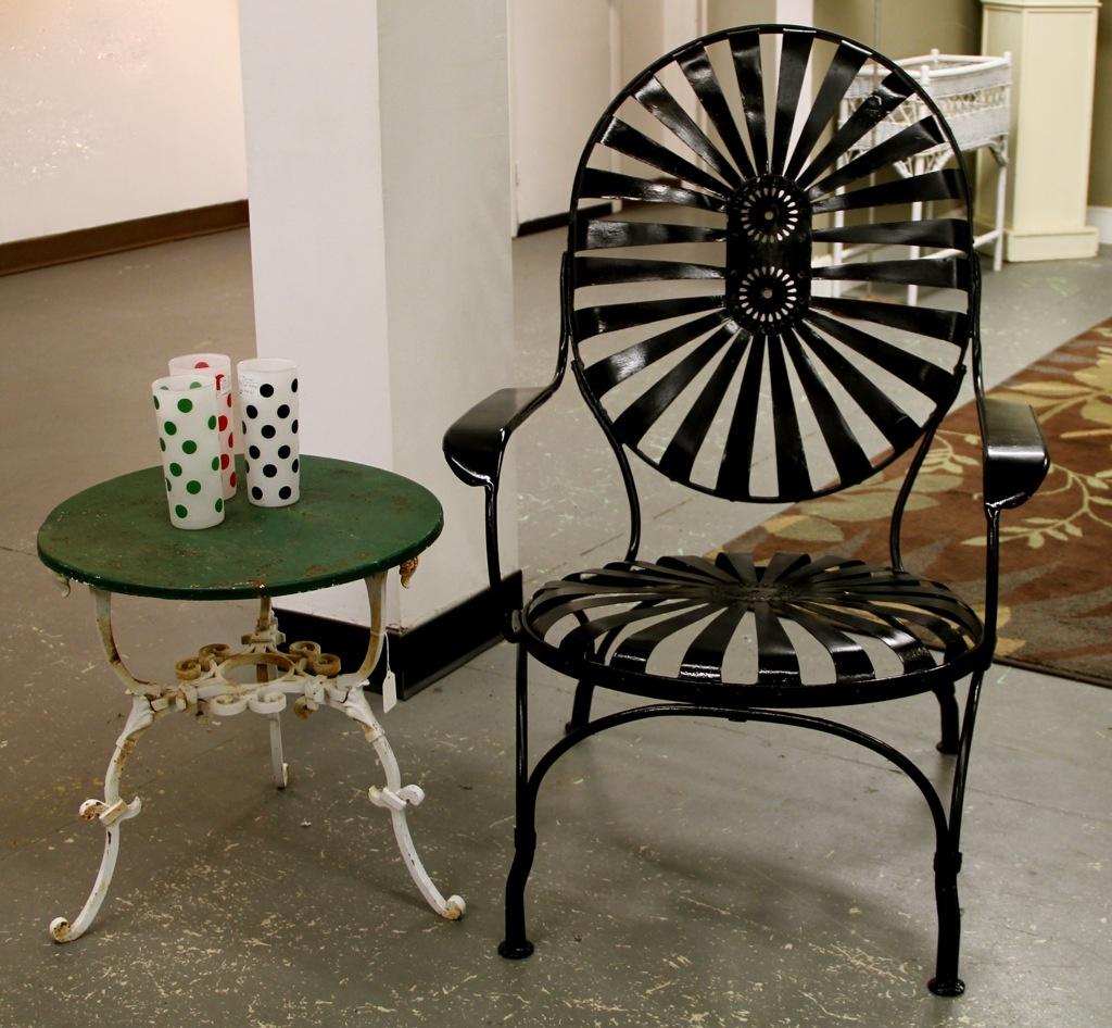 ... Chair Antique Iron Garden Tablefound In Ithaca. Download - Antique Iron Patio Furniture