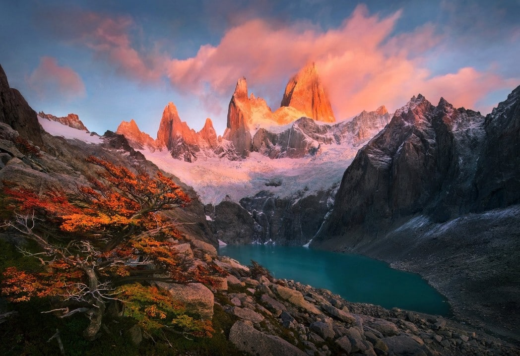 American Wallpaper Fall River Patagonia Argentina Enjoy Your Trip To The End Of The