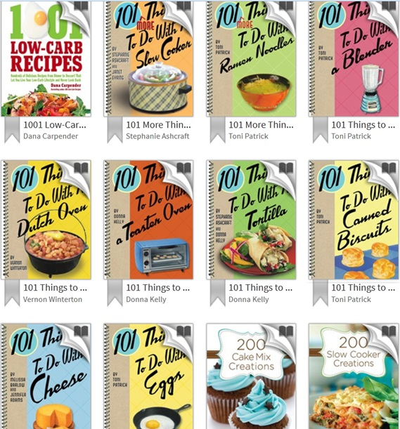 From Tablet to Table \u2013 Checkout these Tasty E-book Titles - checkout a book