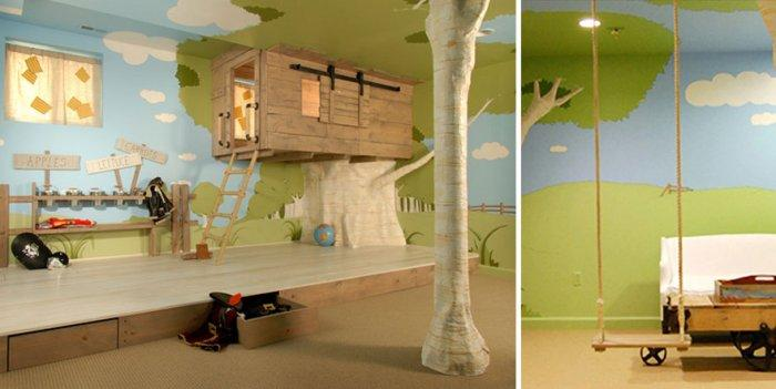 treehouse kids room yamsixteen rh yamsixteen com Tree House Rental New Hampshire Tree House Hotel Rooms