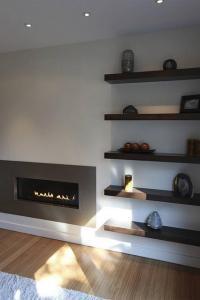 Contemporary Floating Shelves - Home Design