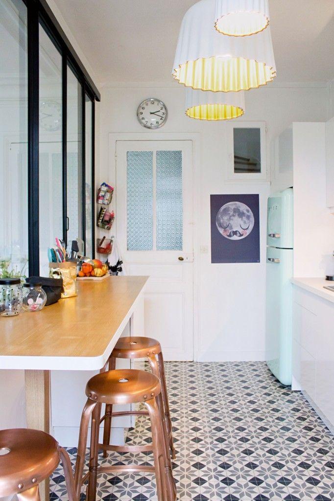black white kitchen tile floor couchable white wooden galley kitchen small marble top kitchen island