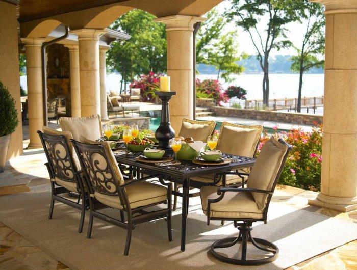 Metal Outdoor Furniture For Your Summer Garden Founterior