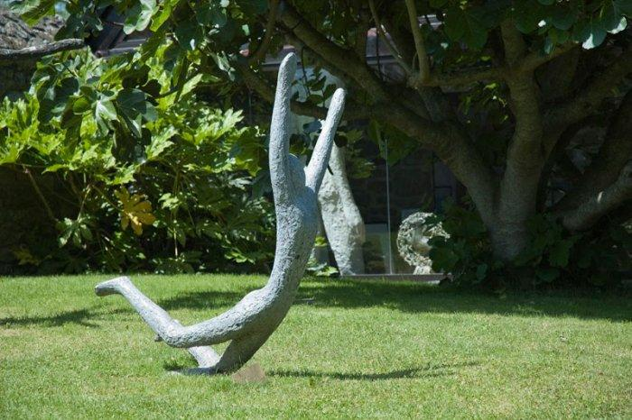 Decoration Murale Exterieur En Fer Sport Garden Sculpture - Man | Founterior