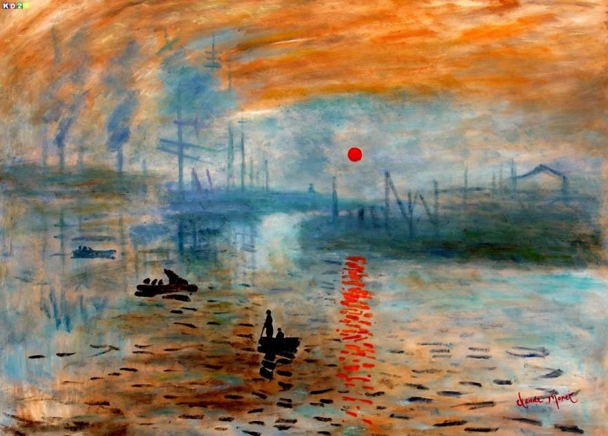 Prints Of Paintings On Canvas Art For Home - Claude Monet Paintings | Founterior