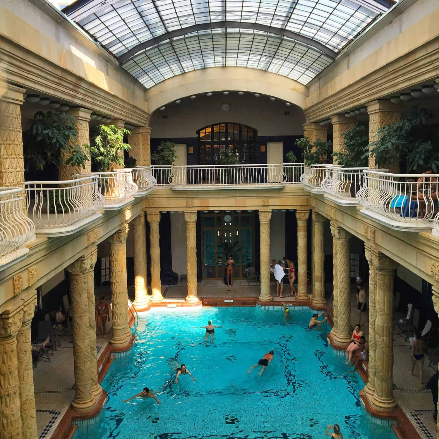 Baños Gellert Budapest Visiting The Budapest Gellert Baths With Kids Four