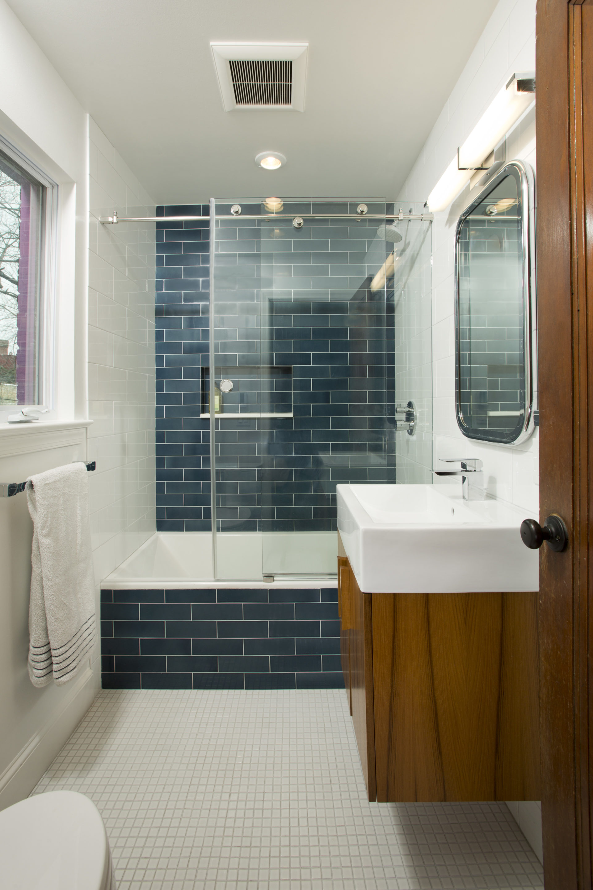 Bathroom Storage Furniture Chevy Chase Bathroom Renovation - Four Brothers Llc