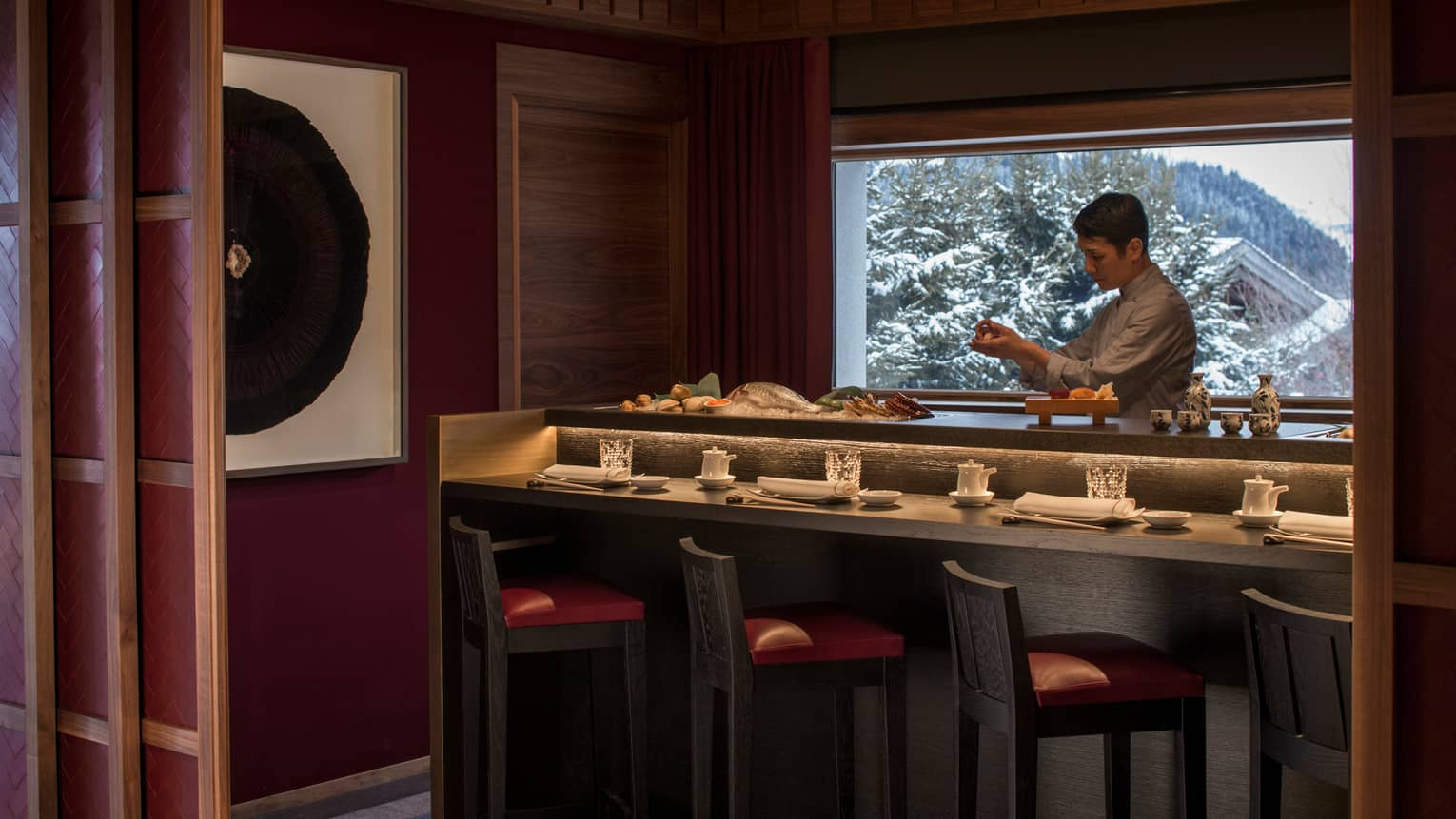 Office Tourisme Megeve Megeve Fine Dining Michelin Starred Restaurant Bar Four Seasons