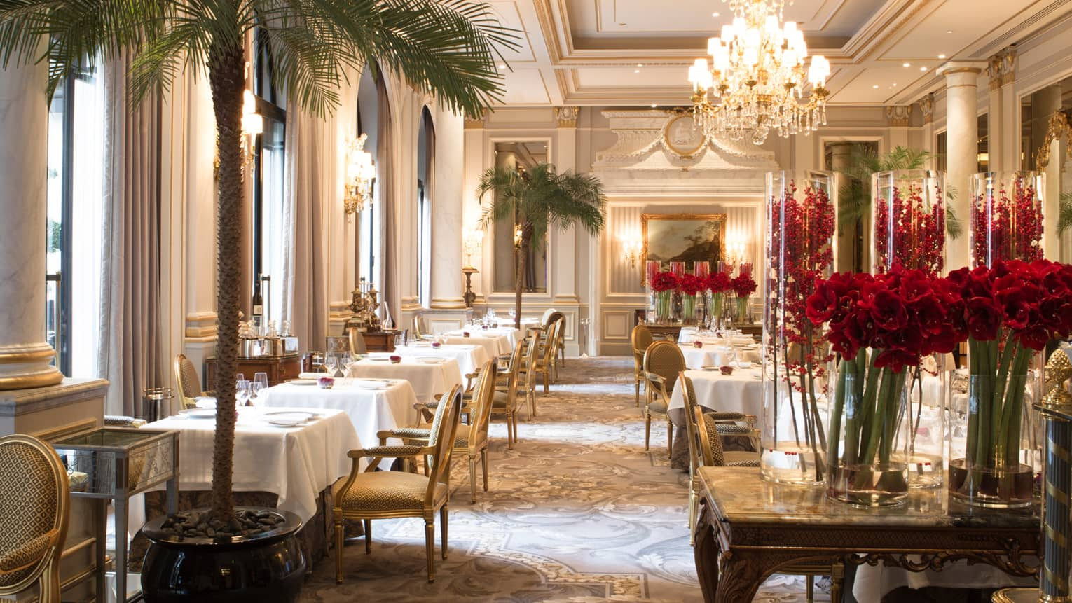 Resto Dans Paris Paris Restaurants Fine Dining Four Seasons Hotel George V Paris