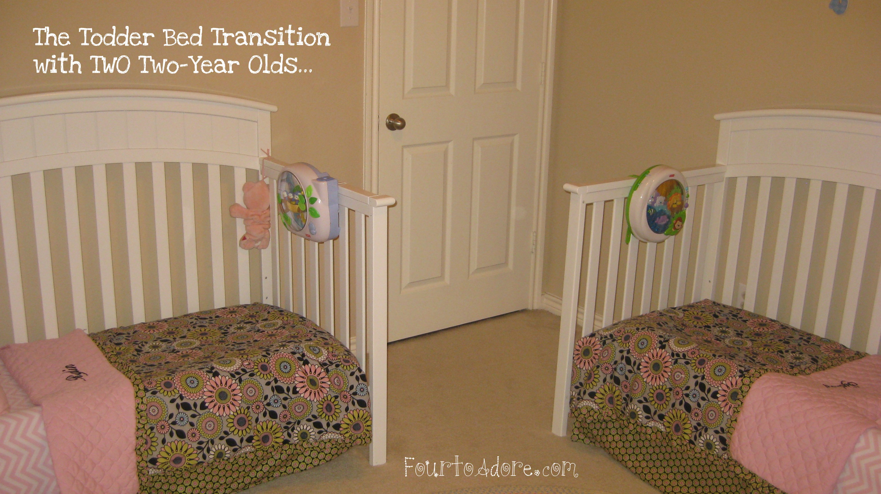 Toddler Bed For Girl Transitioning To Toddler Beds Four To Adore
