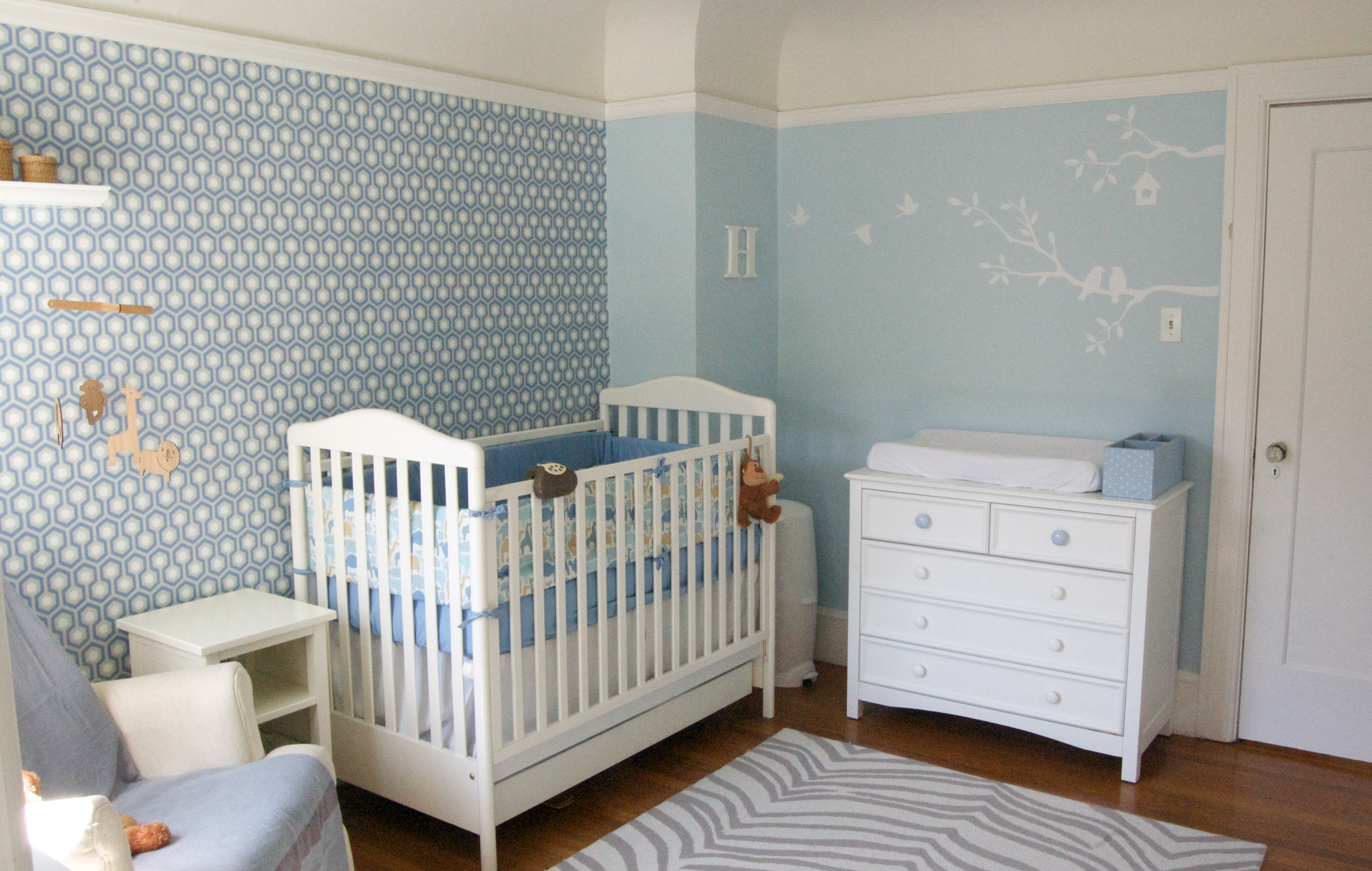 Baby Blue Bedroom Ideas Custom Nursery Art By Kimberly Top Baby Boy Nursery