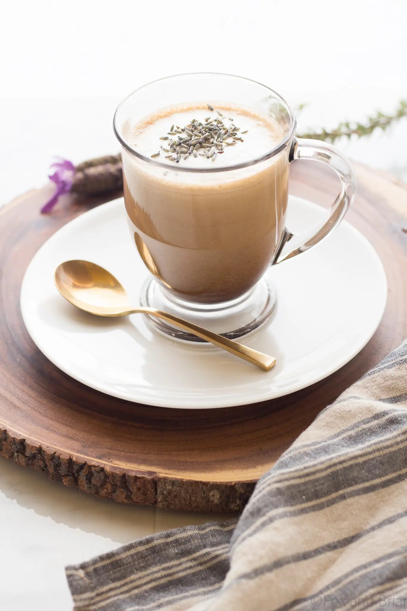 Coffee Latte Lavender Latte