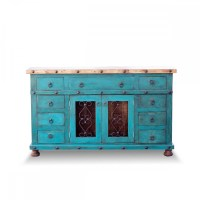 Order Painted Bathroom Vanity with Rustic Accents Online