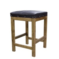Purchase Captain's Leather Bar Stool Online