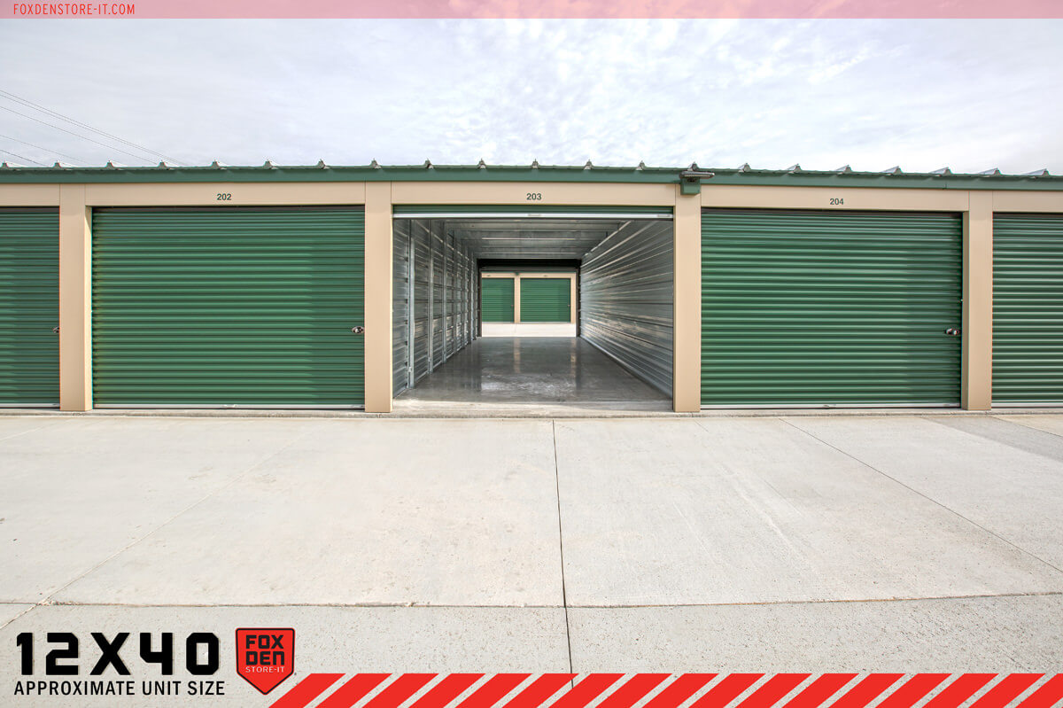 Garage Builders Janesville Wi 12 X 40 Secure Self Storage Units In Janesville Highway 51