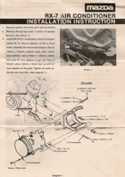1980 mazda rx 7 factory wiring diagram manual