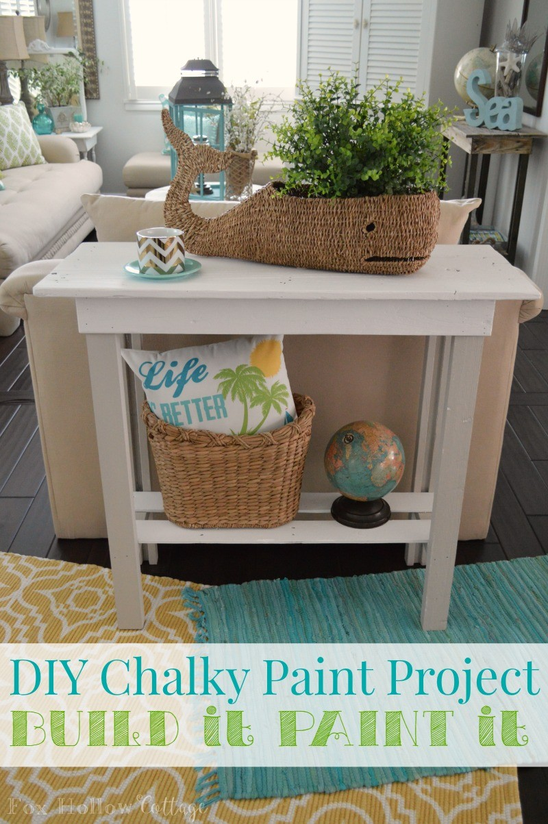 Americana Decor Chalky Finish More Summer Decor And A Diy Paint Makeover