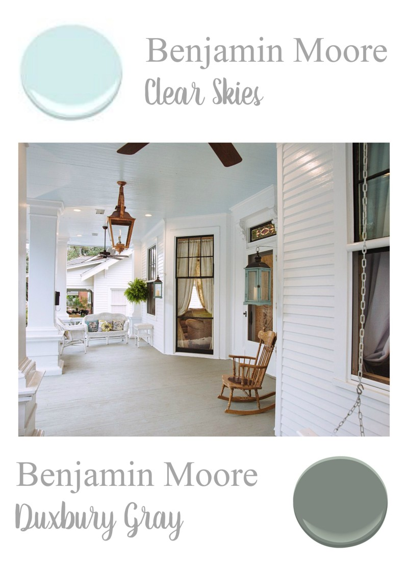 Benjamin Moore Bedroom Colors Southern Home Paint Color Palette Fox Hollow Cottage