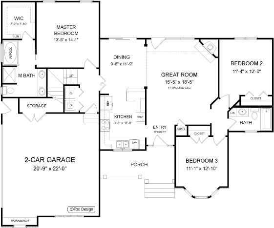typical garage electrical layout
