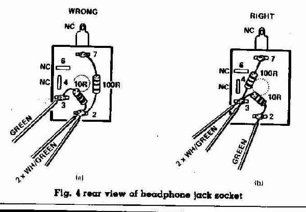 speaker output jack wiring