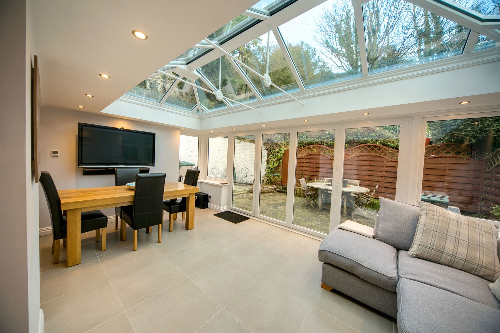Glass Roof Extension Glass House Extension Prices Kenilworth Glass Box Extensions