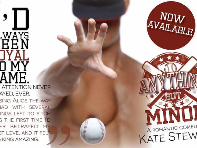 Anything But Minor by @authorklstewart #RomCom #love