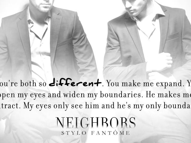 Teaser: NEIGHBORS by @StyloFantome