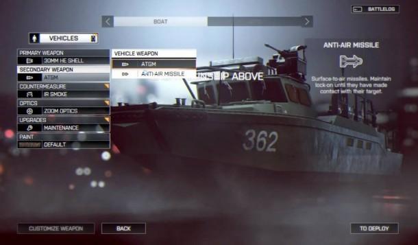battlefield 4 customisation 3 610x357 BATTLEFIELD 4:バトルログ2.0とビークルカスタマイズ画像がリーク、PC版の必要スペックも Battlefield 4