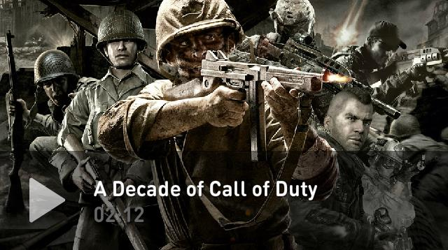 『Call of Duty』シリーズ10年の歴史を2分にまとめた動画