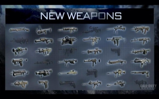 Ghosts new Weapon