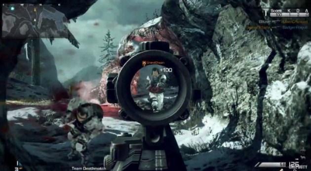 Screenshot 10 630x347 CoD:ゴースト:マルチプレイヤー詳細やトレイラー公開!新武器、ストリーク、女性兵士など News CoD:Ghosts