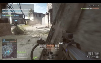 BF4:世界新記録?RPG一発で16キルの目を疑うようなプレイ動画