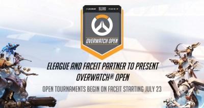 オーバーウォッチ:賞金総額3200万円の大型大会「Overwatch Open」を開催、決勝を米TBSにて放送