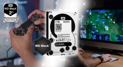 """レビュアー無料プレゼント:「SteamやるならWD Black!」 ゲーマー向けHDD""""WD Black""""(3名)"""