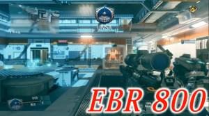 CoD:IW:切り替え式の武器強し?アサルト運用可能なスナイパーライフル「EBR-800」とSMG「RPR Evo」プレイ動画