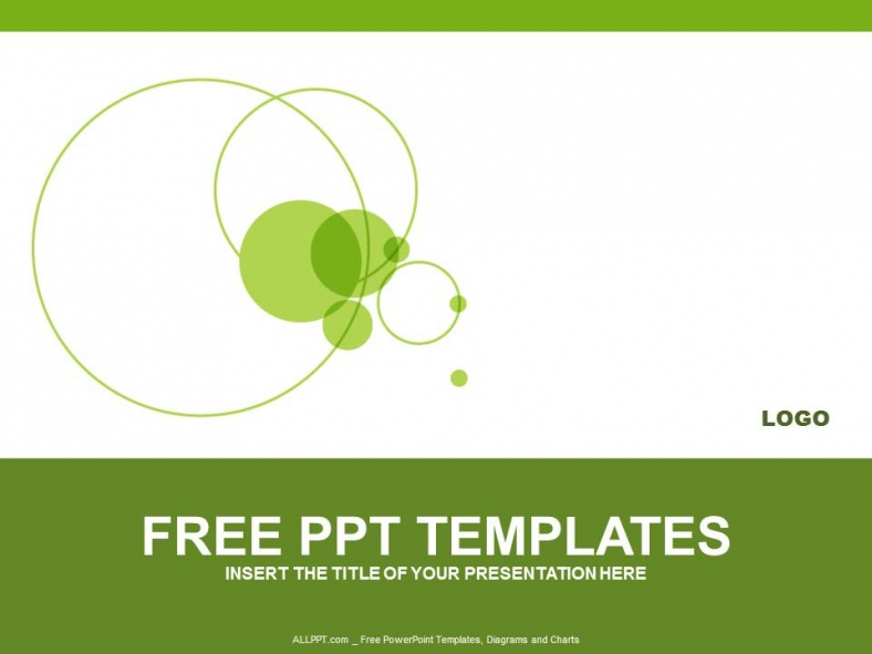 Green Circle PowerPoint Templates Design + Download Free + Daily - download free powerpoint templates
