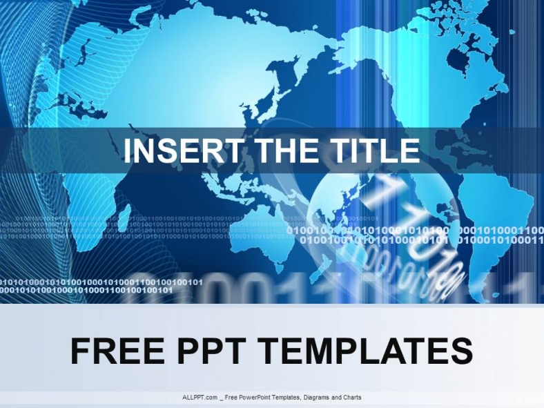 powerpoint template world image collections template design ideas