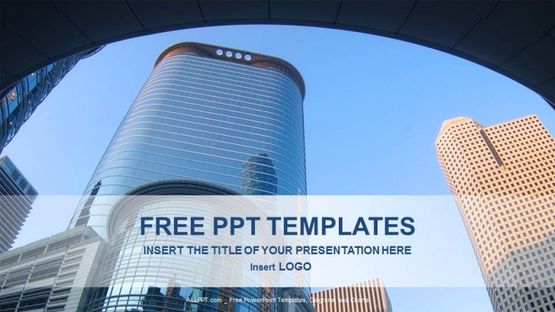 Modern Architecture-Real Estate PowerPoint Templates