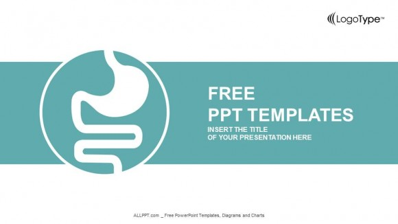 Human\u0027s Stomach Graphic PowerPoint Templates - free powerpoint graphics templates