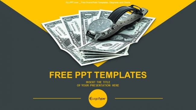 Time Is Money PowerPoint Templates - free money templates