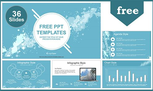 Free Best PowerPoint Templates with Professional +55Slides