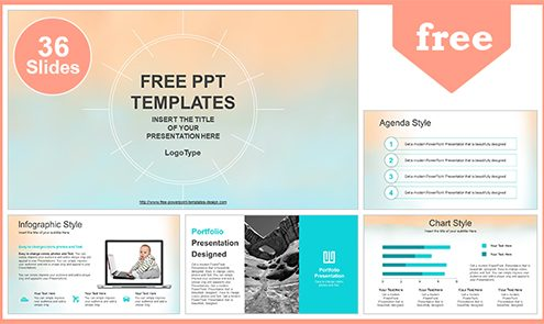 Free Abstract Powerpoint Templates Design