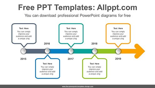 Free PowerPoint Timeline Diagrams - powerpoint timeline