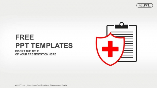 Flat medical icon medical history on a white background PowerPoint - history powerpoint template