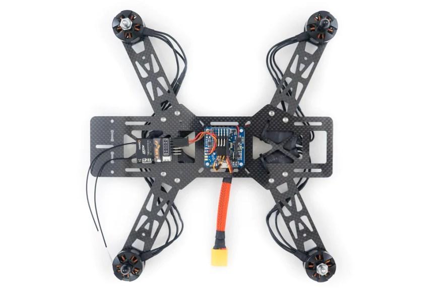 emax250 quadcopter build