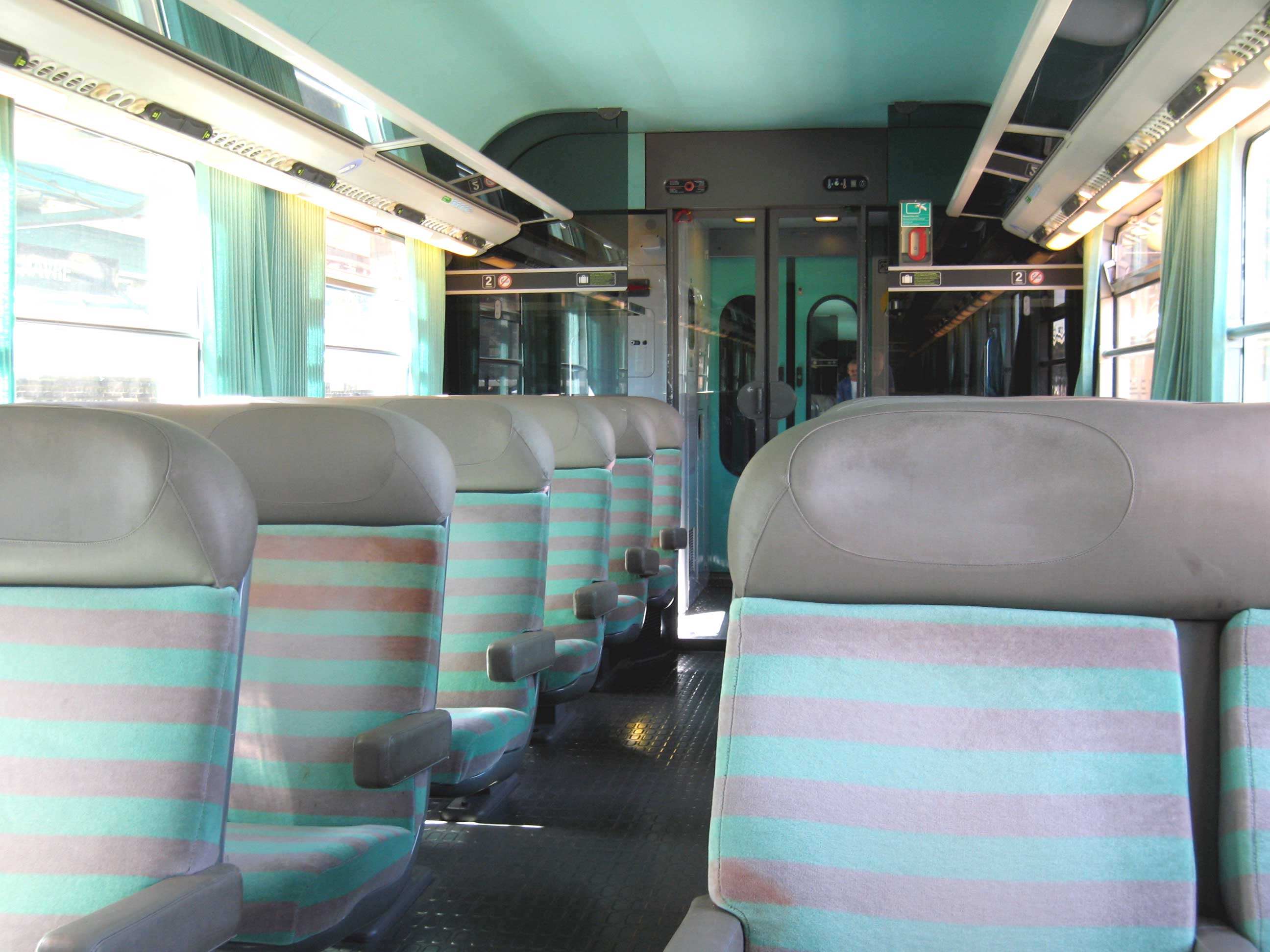Interieur Trein Train Corail