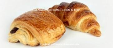 Recette des croissants et pains au chocolat