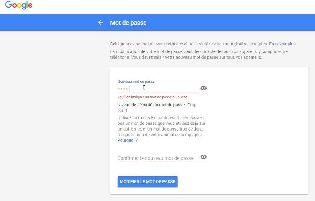 modifier son cv en ligne gmail