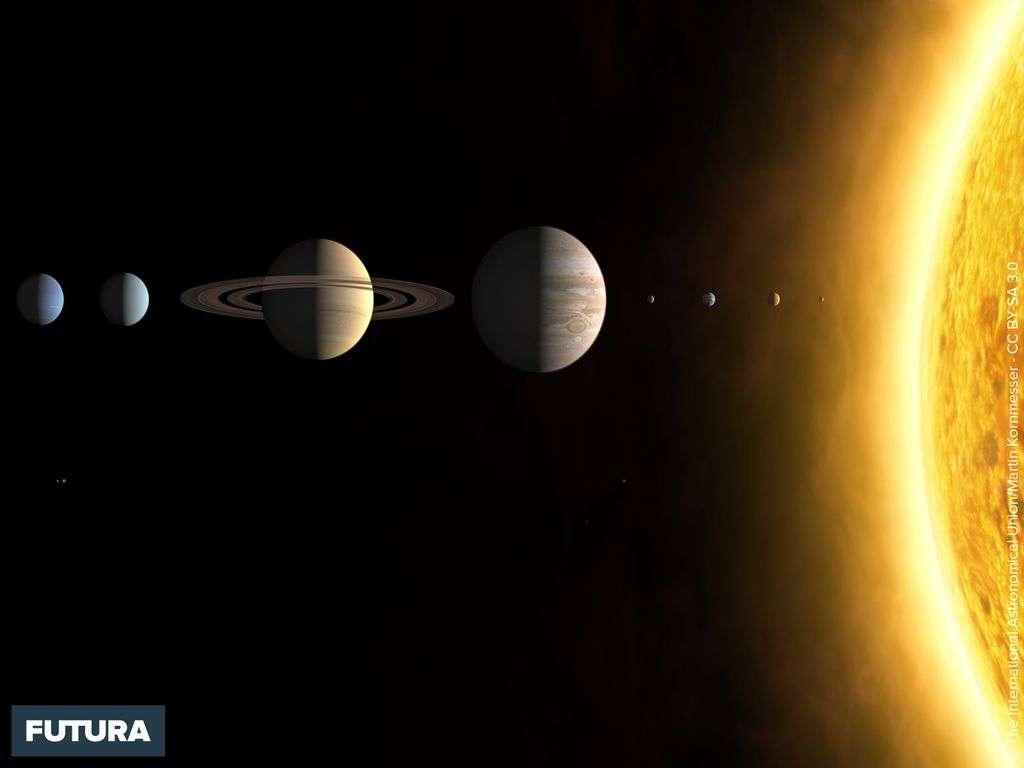 Solar System 3d Wallpaper Fond D 233 Cran Le Syst 232 Me Solaire