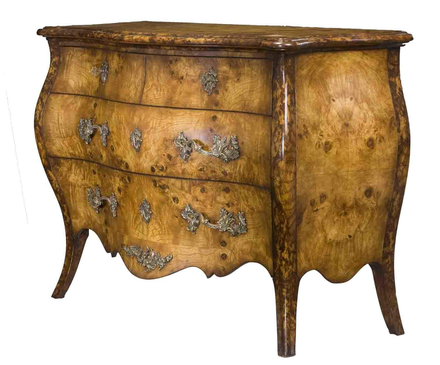 Meuble Style Louis Xv Commode Louis Xv Ronce De Noyer